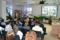 Студентов познакомили с творчеством Владимира Высоцкого