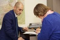 В Дудинке принимают заявления от избирателей